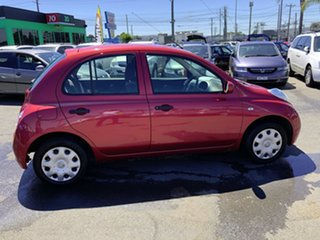 2009 Nissan Micra K12 Red 4 Speed Automatic Hatchback