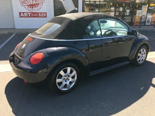 2004 Volkswagen Beetle 1Y MY2005 Black 6 Speed Sports Automatic Cabriolet