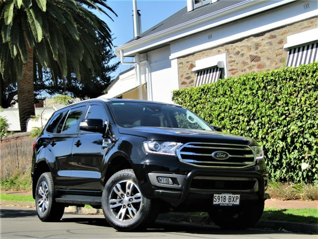 Used Ford Everest UA II 2019.00MY Trend Hyde Park, 2018 Ford Everest UA II 2019.00MY Trend Black 6 Speed Sports Automatic SUV