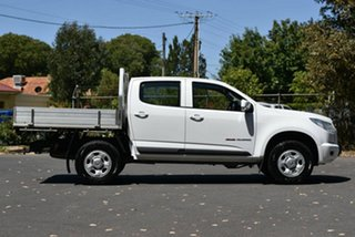 2015 Holden Colorado RG MY16 LS Crew Cab White 6 Speed Manual Utility