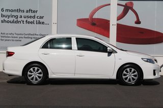 2011 Toyota Corolla ZRE152R MY11 Ascent White 4 Speed Automatic Sedan