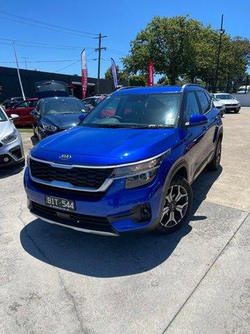 Demo Kia Seltos SP2 MY21 Sport+ 2WD Ferntree Gully, 2020 Kia Seltos SP2 MY21 Sport+ 2WD Neptune Blue 1 Speed Constant Variable Wagon