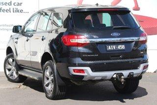 2016 Ford Everest UA Titanium Black 6 Speed Sports Automatic SUV.