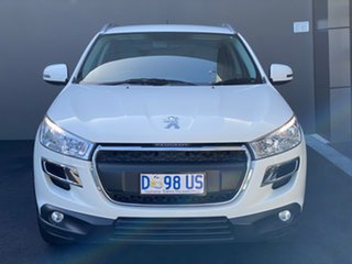 2013 Peugeot 4008 MY14 Active 2WD White 6 Speed Constant Variable Wagon.