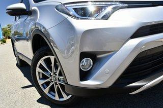 2017 Toyota RAV4 ASA44R Cruiser AWD Silver 6 Speed Sports Automatic Wagon.