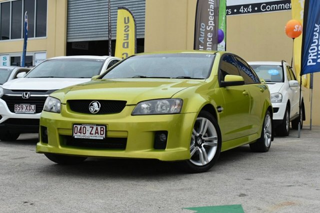 Used Holden Commodore VE MY08 SV6 Capalaba, 2008 Holden Commodore VE MY08 SV6 Green 5 Speed Automatic Sedan