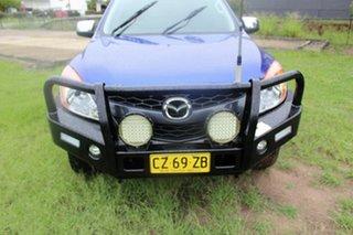 2015 Mazda BT-50 UR0YF1 XTR Blue 6 Speed Manual Utility