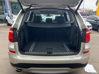 2015 BMW X3 F25 MY15 xDrive20d Mineral Silver 8 Speed Automatic Wagon