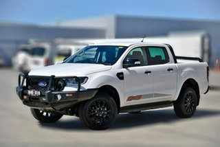 2020 Ford Ranger PX MkIII 2020.25MY FX4 White 6 Speed Manual Double Cab Pick Up.