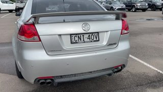 2008 Holden Commodore VE SS Silver 6 Speed Sports Automatic Sedan