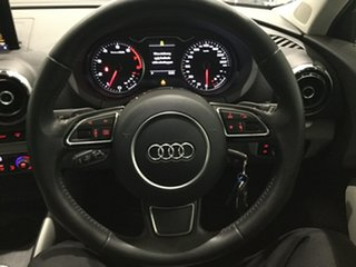 2014 Audi A3 8V Ambition Sportback S Tronic Grey/White 7 Speed Sports Automatic Dual Clutch