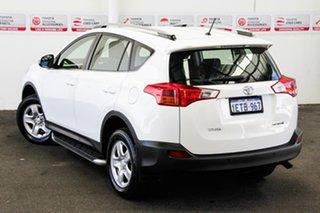 2015 Toyota RAV4 ZSA42R MY14 GX 2WD Glacier White 7 Speed Constant Variable Wagon.
