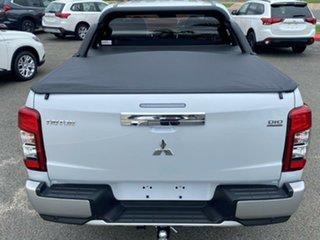 2020 Mitsubishi Triton MR MY21 GLS Double Cab White Diamond 6 Speed Sports Automatic Utility.