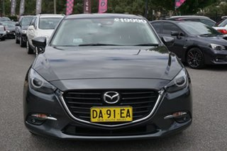 2016 Mazda 3 BN5438 SP25 SKYACTIV-Drive GT Grey 6 Speed Sports Automatic Hatchback.
