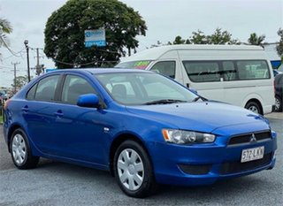 2008 Mitsubishi Lancer CJ ES Blue 6 Speed Constant Variable Hatchback.