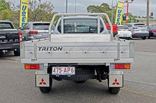 2015 Mitsubishi Triton MN MY15 GL 4x2 Silver 5 Speed Manual Cab Chassis