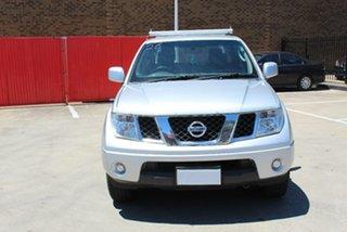 2010 Nissan Navara D40 ST (4x4) Silver 5 Speed Automatic Dual Cab Pick-up.