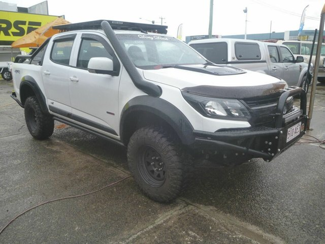 Used Holden Colorado RG MY20 LS-X Pickup Crew Cab Morayfield, 2019 Holden Colorado RG MY20 LS-X Pickup Crew Cab White 6 Speed Sports Automatic Utility