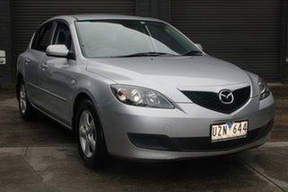 2007 Mazda 3 BK MY06 Upgrade Maxx 4 Speed Auto Activematic Hatchback.