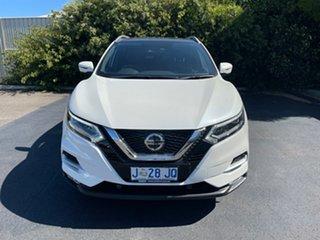 2019 Nissan Qashqai J11 Series 2 Ti X-tronic Ivory Pearl 1 Speed Constant Variable Wagon.