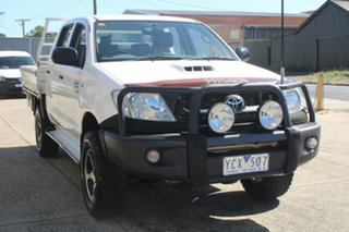 2011 Toyota Hilux KUN26R MY12 SR (4x4) 5 Speed Manual Dual Cab Chassis