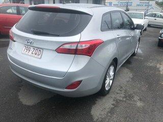 2013 Hyundai i30 TOURER ACTIVE Silver Automatic Hatchback