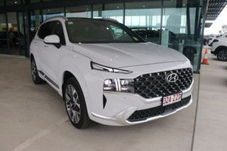 2020 Hyundai Santa Fe Tm.v3 MY21 Highlander DCT Glacier White 8 Speed Sports Automatic Dual Clutch.