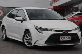2019 Toyota Corolla Mzea12R Ascent Sport White 10 Speed Constant Variable Sedan.