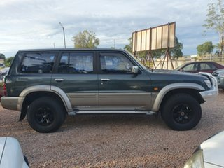 1999 Nissan Patrol GU ST Green 4 Speed Automatic Wagon.