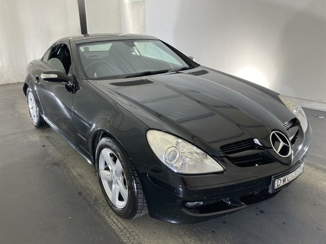 Used Mercedes-Benz SLK-Class R171 MY06 SLK200 Kompressor Maryville, 2006 Mercedes-Benz SLK-Class R171 MY06 SLK200 Kompressor Black 5 Speed Automatic Roadster