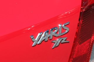 2009 Toyota Yaris NCP90R MY09 YR Red 4 Speed Automatic Hatchback
