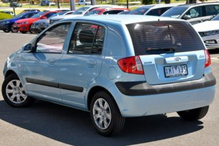 2010 Hyundai Getz TB MY09 S Blue 4 Speed Automatic Hatchback.