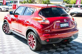 2016 Nissan Juke F15 Series 2 Ti-S X-tronic AWD Red/Black 1 Speed Constant Variable Hatchback.