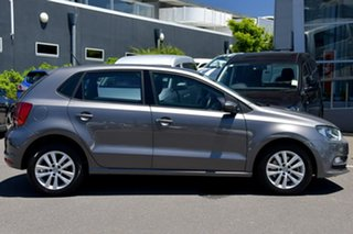 2015 Volkswagen Polo 6R MY15 81TSI DSG Comfortline Grey 7 Speed Sports Automatic Dual Clutch.
