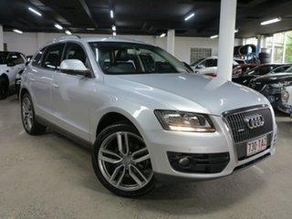 2010 Audi Q5 8R MY10 TDI S Tronic Quattro Silver 7 Speed Sports Automatic Dual Clutch Wagon.