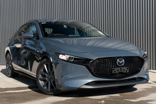 2020 Mazda 3 BP2HLA G25 SKYACTIV-Drive GT Polymetal Grey 6 Speed Sports Automatic Hatchback.
