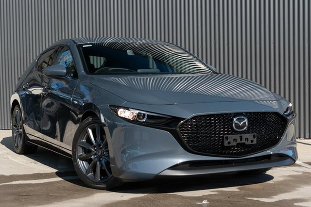 Demo Mazda 3 BP2HLA G25 SKYACTIV-Drive GT Mornington, 2020 Mazda 3 BP2HLA G25 SKYACTIV-Drive GT Polymetal Grey 6 Speed Sports Automatic Hatchback
