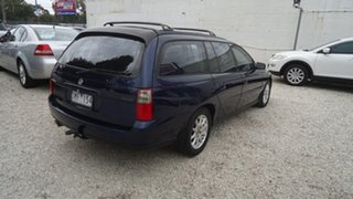 2003 Holden Commodore VY Equipe Blue 4 Speed Automatic Wagon
