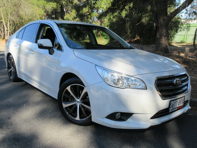 Used Subaru Liberty B6 MY17 2.5i CVT AWD Reynella, 2017 Subaru Liberty B6 MY17 2.5i CVT AWD White 6 Speed Constant Variable Sedan