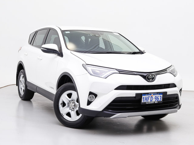 Used Toyota RAV4 ALA49R MY18 GX (4x4), 2017 Toyota RAV4 ALA49R MY18 GX (4x4) White 6 Speed Automatic Wagon