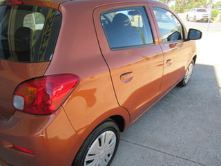 2016 Mitsubishi Mirage LA ES Orange 1 Speed Automatic Hatchback