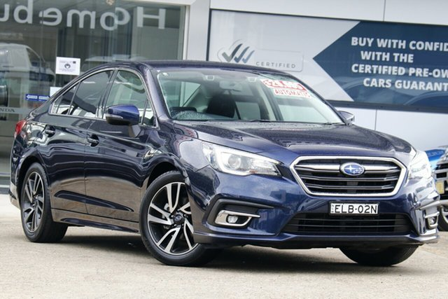 Used Subaru Liberty B6 MY19 2.5i CVT AWD Homebush, 2019 Subaru Liberty B6 MY19 2.5i CVT AWD Blue 6 Speed Constant Variable Sedan