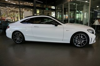 2019 Mercedes-Benz C-Class C205 809MY C43 AMG 9G-Tronic 4MATIC White 9 Speed Sports Automatic Coupe