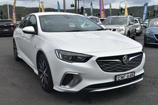 2019 Holden Commodore ZB MY19 RS Liftback White 9 Speed Sports Automatic Liftback.