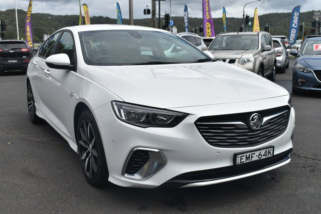 Used Holden Commodore ZB MY19 RS Liftback Gosford, 2019 Holden Commodore ZB MY19 RS Liftback White 9 Speed Sports Automatic Liftback