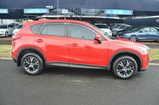 2012 Mazda CX-5 Maxx Sport (4x4) Red 6 Speed Automatic Wagon.