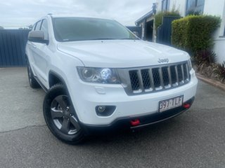 2013 Jeep Grand Cherokee WK MY2013 Trailhawk White 5 Speed Sports Automatic Wagon.