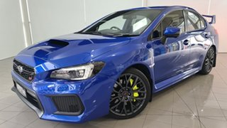 2017 Subaru WRX V1 MY18 STI AWD Premium Blue 6 Speed Manual Sedan.