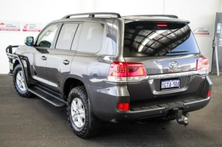 2018 Toyota Landcruiser VDJ200R LC200 GXL (4x4) Graphite 6 Speed Automatic Wagon.