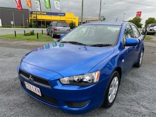 2008 Mitsubishi Lancer CJ ES Blue 6 Speed Constant Variable Hatchback